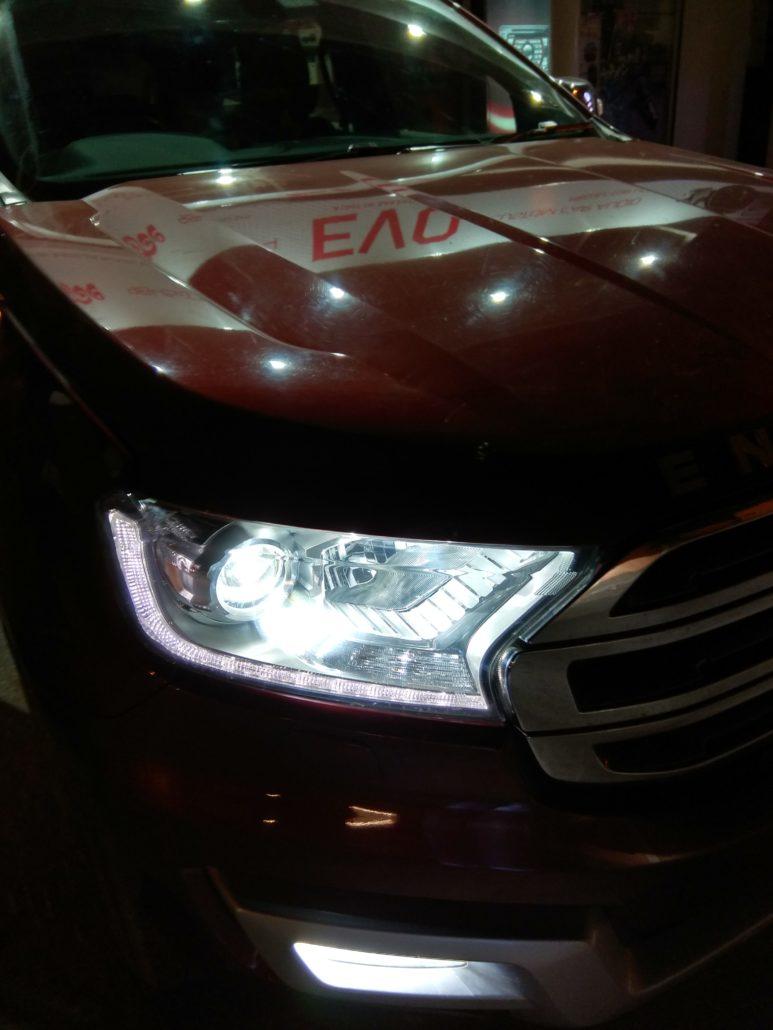 FORD ENDEAVOUR ECO SPORT FIGO FIESTA ASPIRE PROJECTORS - In Car