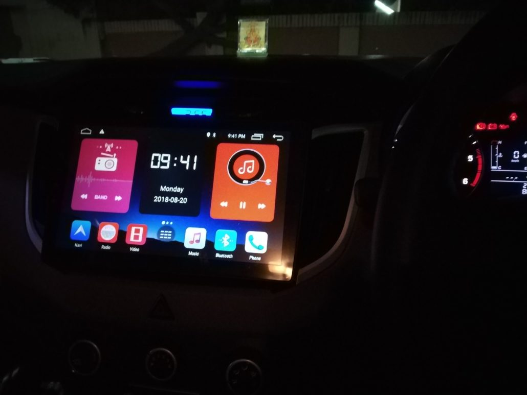 HYUNDAI IN CAR ENTERTAINMENT - In Car Entertainment and Projector