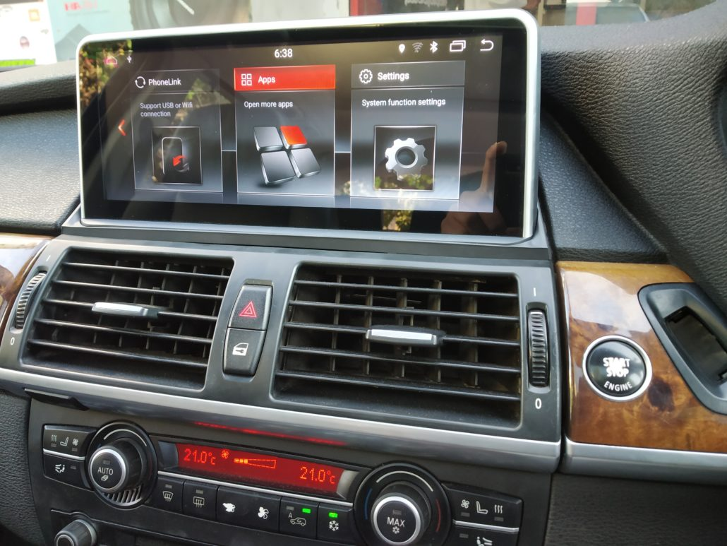 EVO FIT FULL ENTERTAINMENT INSTALLATIONS ON BMW CARS ANDROID APPLE