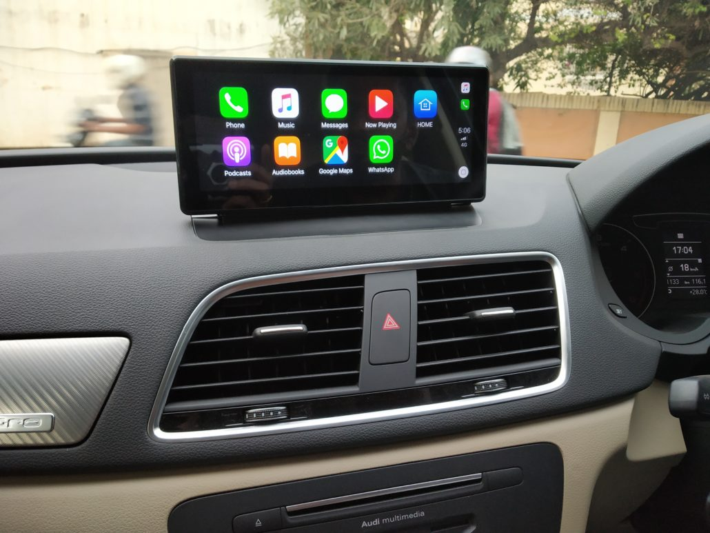 AUDI IN CAR ENTERTAINMENT - In Car Entertainment and