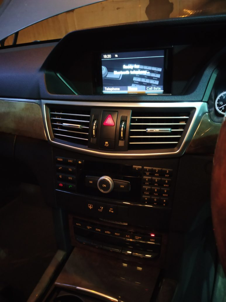MERCEDES BENZ IN CAR ENTERTAINMENT - In Car Entertainment