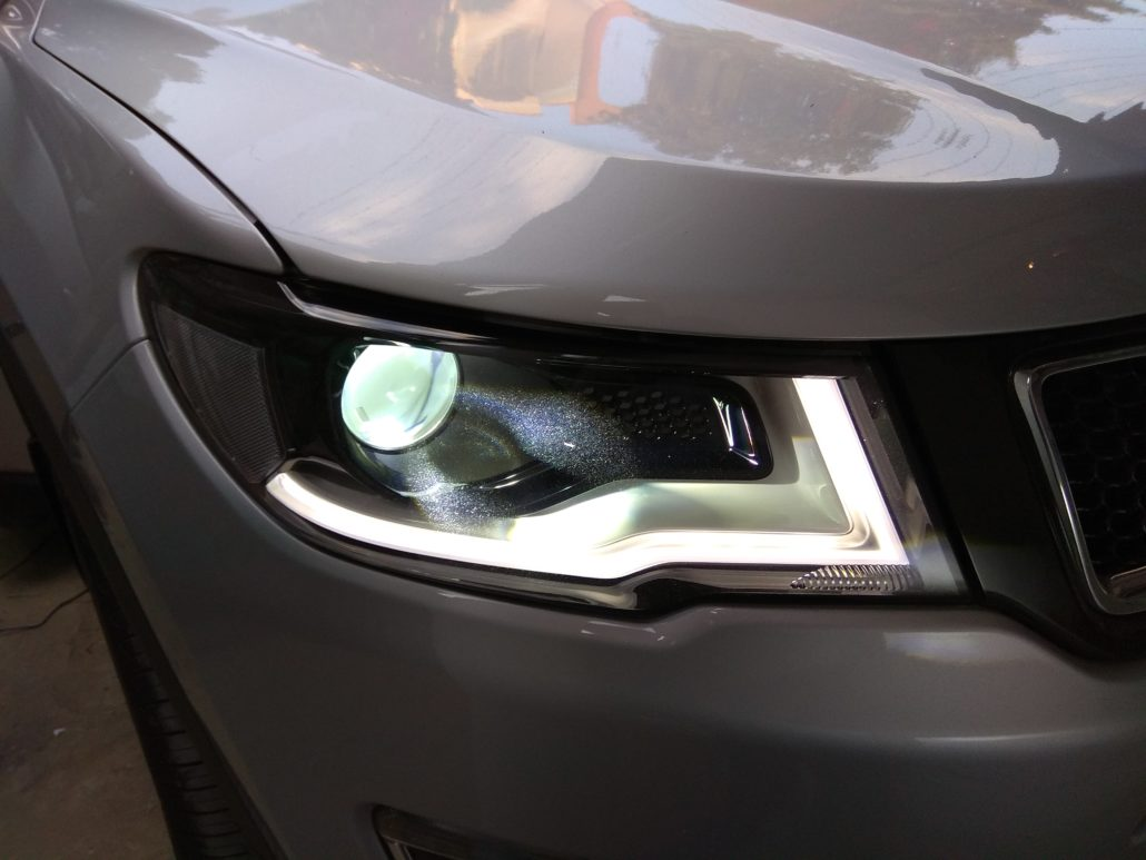 Jeep Compass Lighting Upgrades In Car Entertainment And