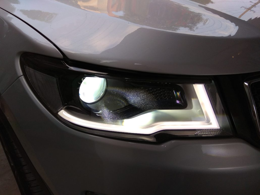 JEEP COMPASS LIGHTING UPGRADES - In Car Entertainment and Projector