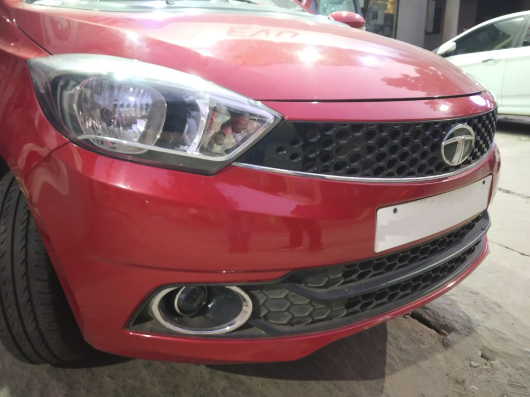 TATA CARS PROJECTOR AND LED INSTALLATIONS - In Car