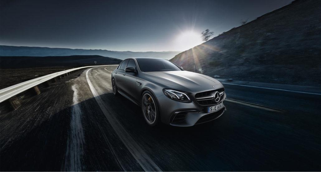 EVO PRO Mercedes E Class premium in car entertainment options E