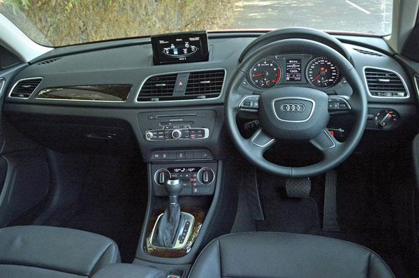 EVO PRO AUDI Q3 premium in car entertainment options Q3 8U Model
