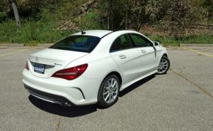 EVO PRO Mercedes CLA Class premium in car entertainment options CLA