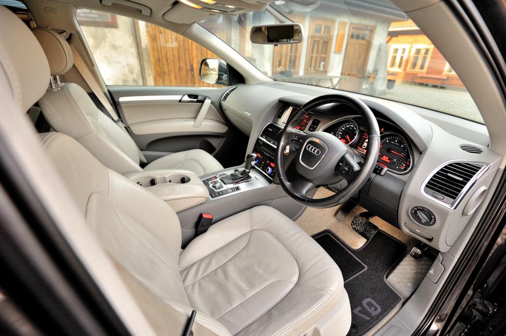 EVO PRO AUDI Q7 premium in car entertainment options Q7 4L