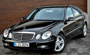 EVO PRO Mercedes E Class premium in car entertainment