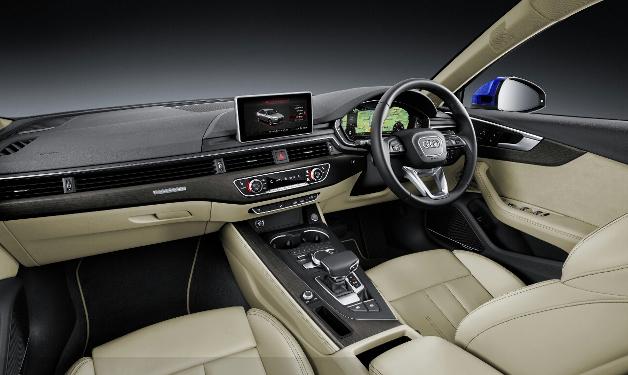 2016 Audi A4 Interior Press Shots