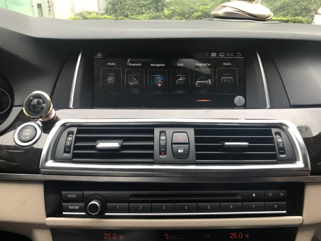 BMW F10 5 SERIES FULL ENTERTAINMENT UPGRADES & RETROFITS 520d 525d
