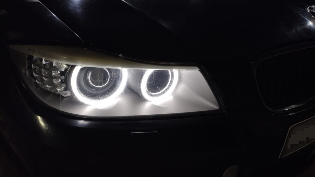 Bmw Car Light Upgrades Bi Xenon Projector Installs Led Upgrades In Car Entertainment And Projector Lights Pro Installer