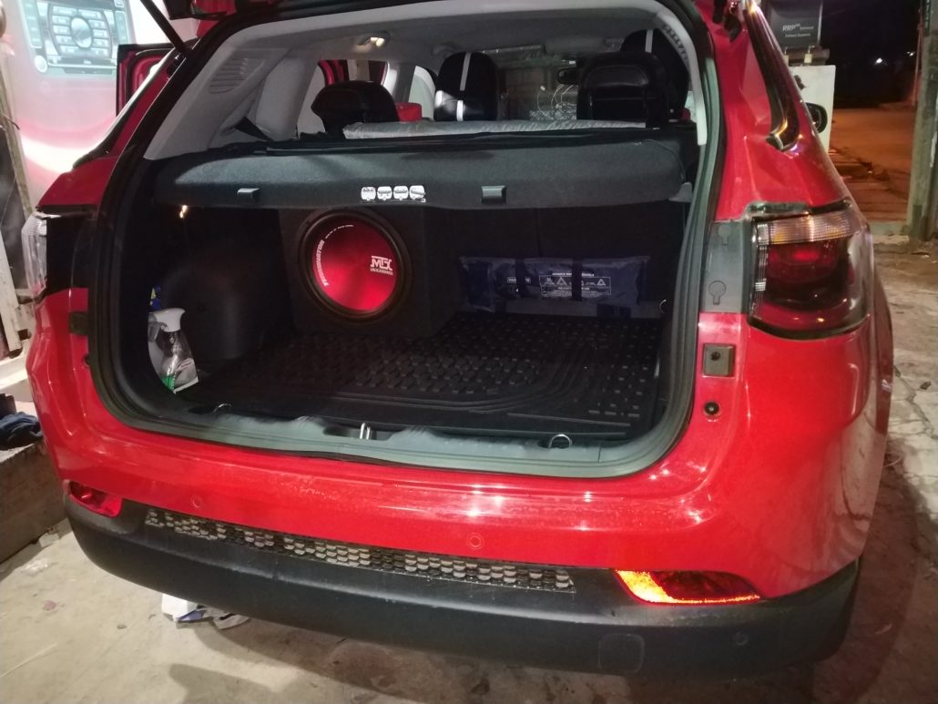 Jeep Compass In Car Entertainment Upgrades In Car